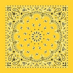 bandana giallo