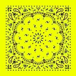 bandana giallo fluo
