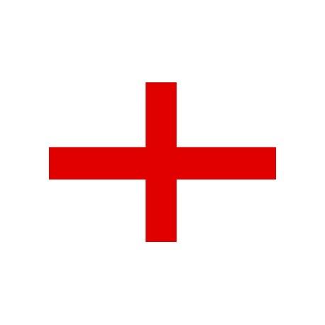 Bandiera Inghilterra Bianca Flash Srl