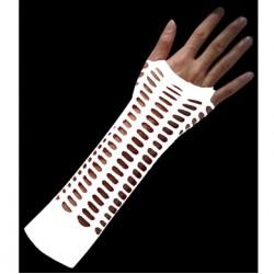 manicotto rete larga bianco