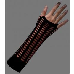 manicotto rete larga nero