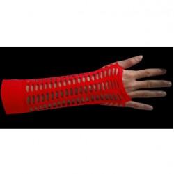 manicotto rete larga rosso
