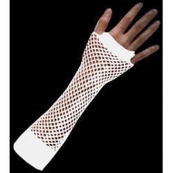 manicotto rete stretta bianco