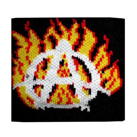 polsino anarchia e fiamme