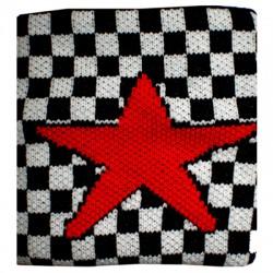 polsino scacchi con stella rossa