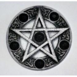 toppa stella 5 punte con cerchio