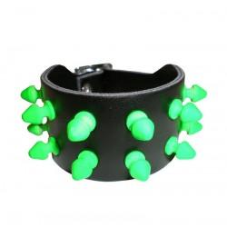bracciale killer fluo verde 2 file