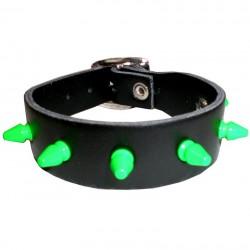 bracciale mini killer fluo verde 1 fila