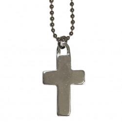 ciondolo croce con catena
