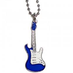 ciondolo chitarra piccola blu