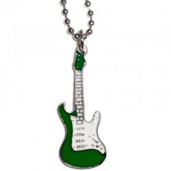 ciondolo chitarra piccola verde