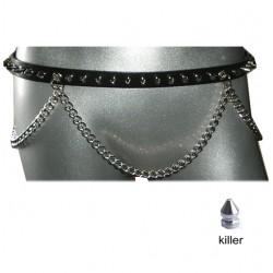 cintura killer 1fila con catena
