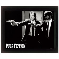 Cornice in 3D Pulp Fiction