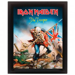 Cornice in 3D Iron Maiden The Trooper