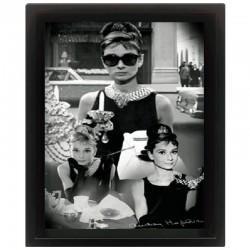 Cornice in 3D Audrey Hepburn