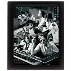 Cornice in 3D John Lennon