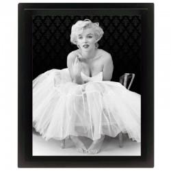 Cornice in 3D Marilyn Monroe ballerina