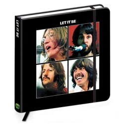 Quaderno The Beatles Let it be ufficiale