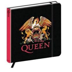 Quaderno Queen crest logo ufficiale