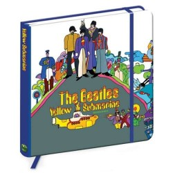 Quaderno The Beatles yellow submarine ufficiale