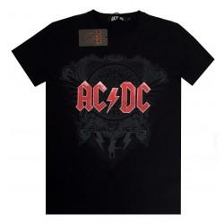 Maglia ufficiale AC/DC album Black ice nera
