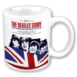 Tazza The Beatles biografia The beatles story