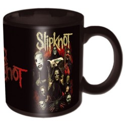Tazza Slipknot Come Play Dying Black