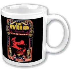 Tazza The Who Live in concert