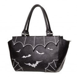 BATS HAND BAG WHITE