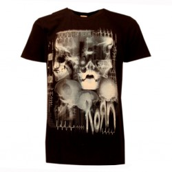 t-shirt ufficiale korn nera