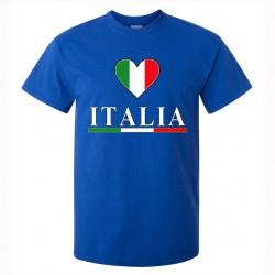 t-shirt italia uomo itm02 blu royal