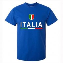 t-shirt italia uomo itm05 blu royal