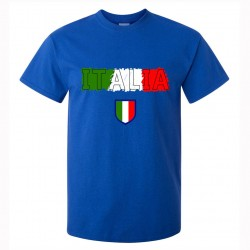 t-shirt italia uomo itm08 blu royal