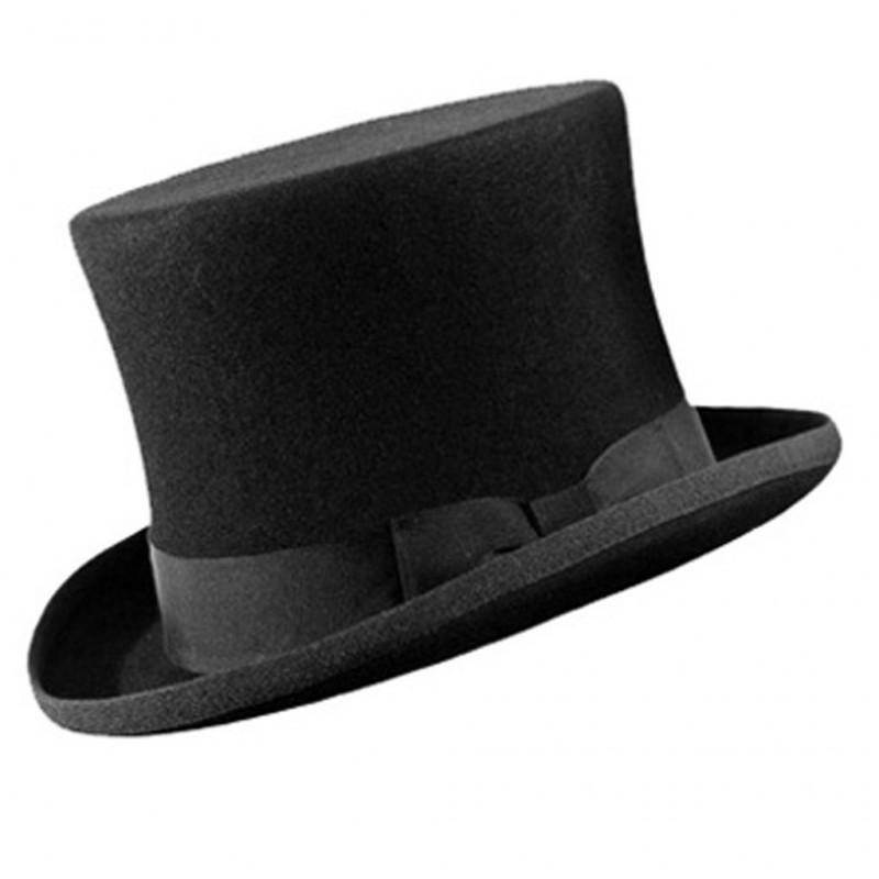 ultima selezione prezzo ragionevole autentico cappello cilindro nero - FLASH SRL