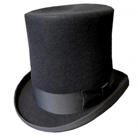migliore a buon mercato bello design stili di grande varietà cappello cilindro alto nero - tuba nera - FLASH SRL