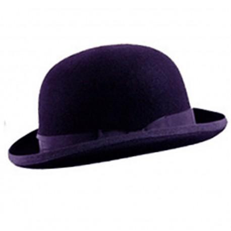 cappello bombetta viola - FLASH SRL 34f6308844d1