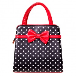 CARLA BAG BBN7047 BLACK RED