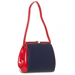 DO YOU WANT ME? BAG BG7112 NAVY RED