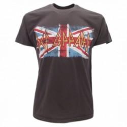 Def Leppard T-shirt ufficiale grigio scuro