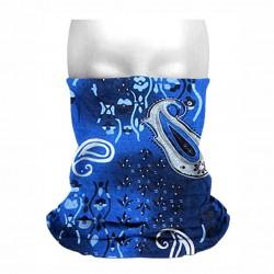 Collo sottocasco bandana blu mf235