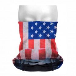 Collo sottocasco bandiera americana mf281