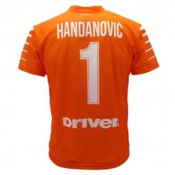 Inter maglia ufficiale Handanovic in poliestere arancione