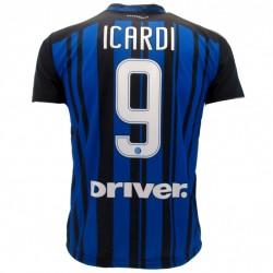 Inter maglia ufficiale Icardi in poliestere blu e nero