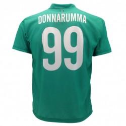 Milan maglia ufficiale Donnarumma in poliestere verde acqua