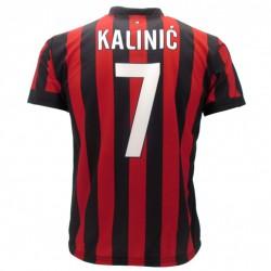 Milan maglia ufficiale Kalinic in poliestere rosso e nero