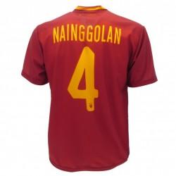 Roma maglia ufficiale Nainggolan in poliestere giallo e rosso