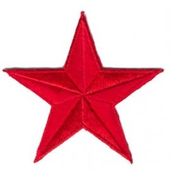 toppa stella rossa