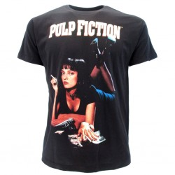 Pulp Fiction t-shirt ufficiale nera
