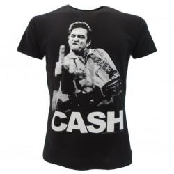 Jonny Cash t-shirt ufficiale nera