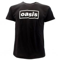 Oasis t-shirt ufficiale nera